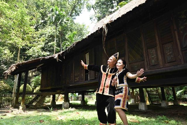 Visit the Murut Cultural Centre