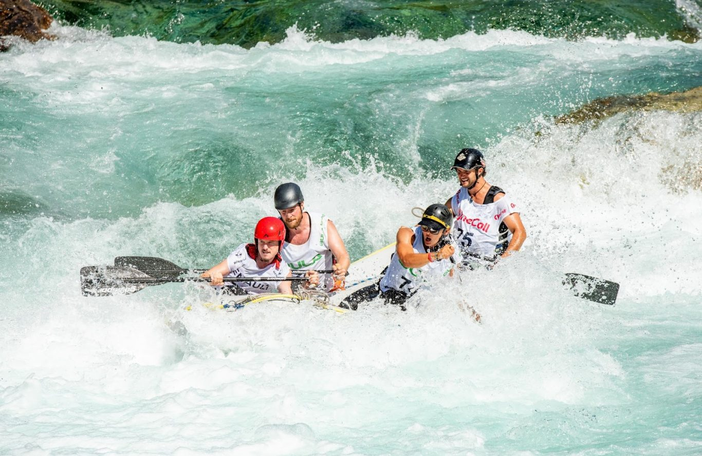 water rafting on the Padas River