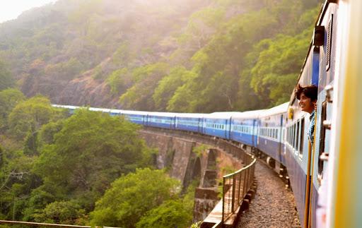 Train ride through Tenom